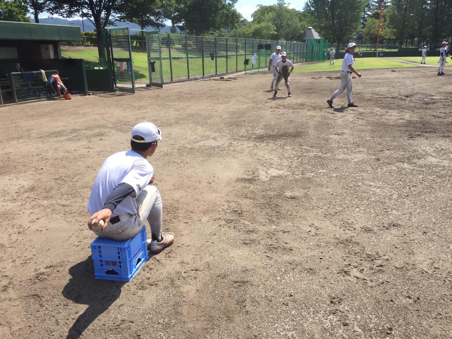 内野手の基礎練習