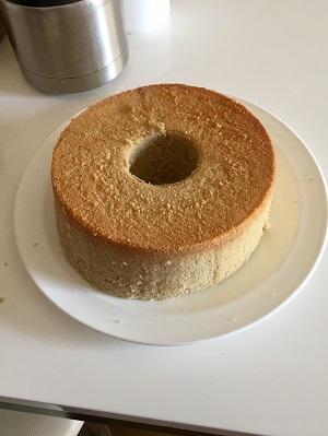 俺のシフォンケーキ