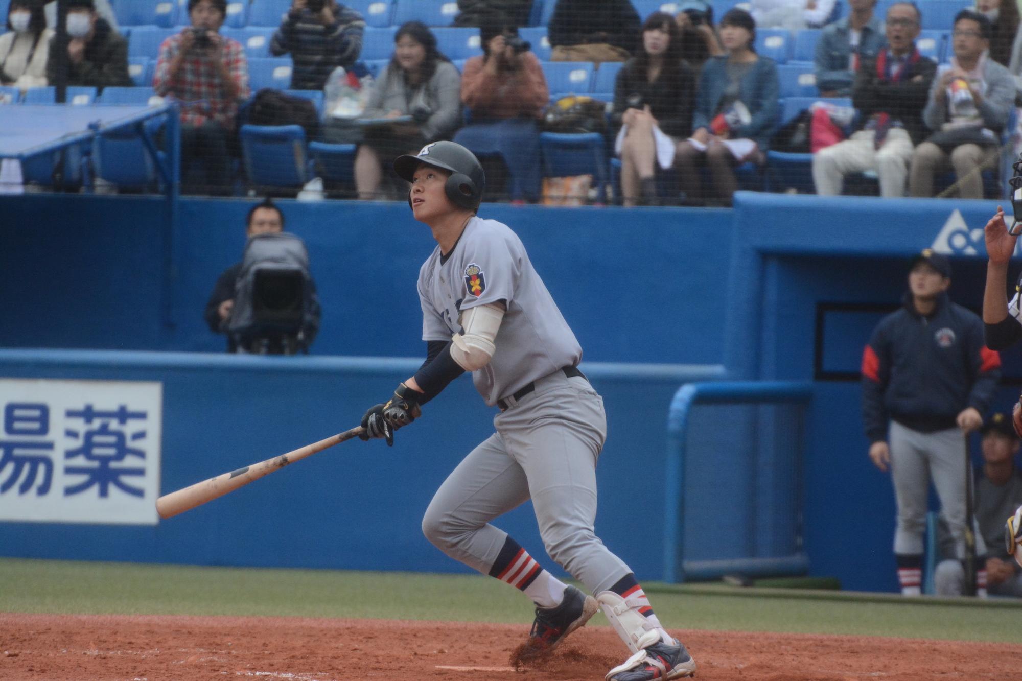 2018秋立教①嶋田翔1(2年・樹徳)