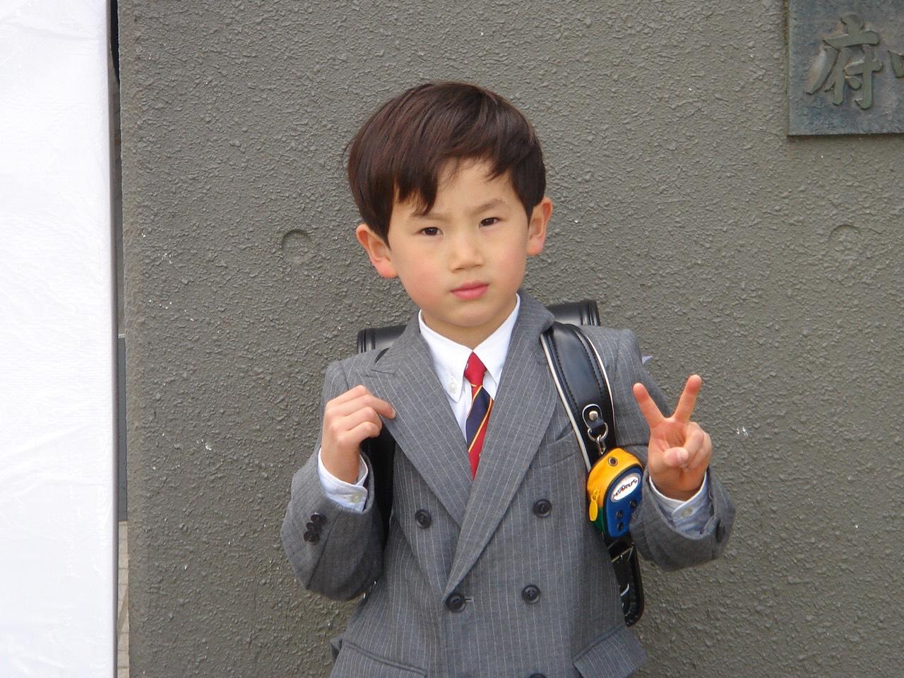 白倉「小学校に入学式」