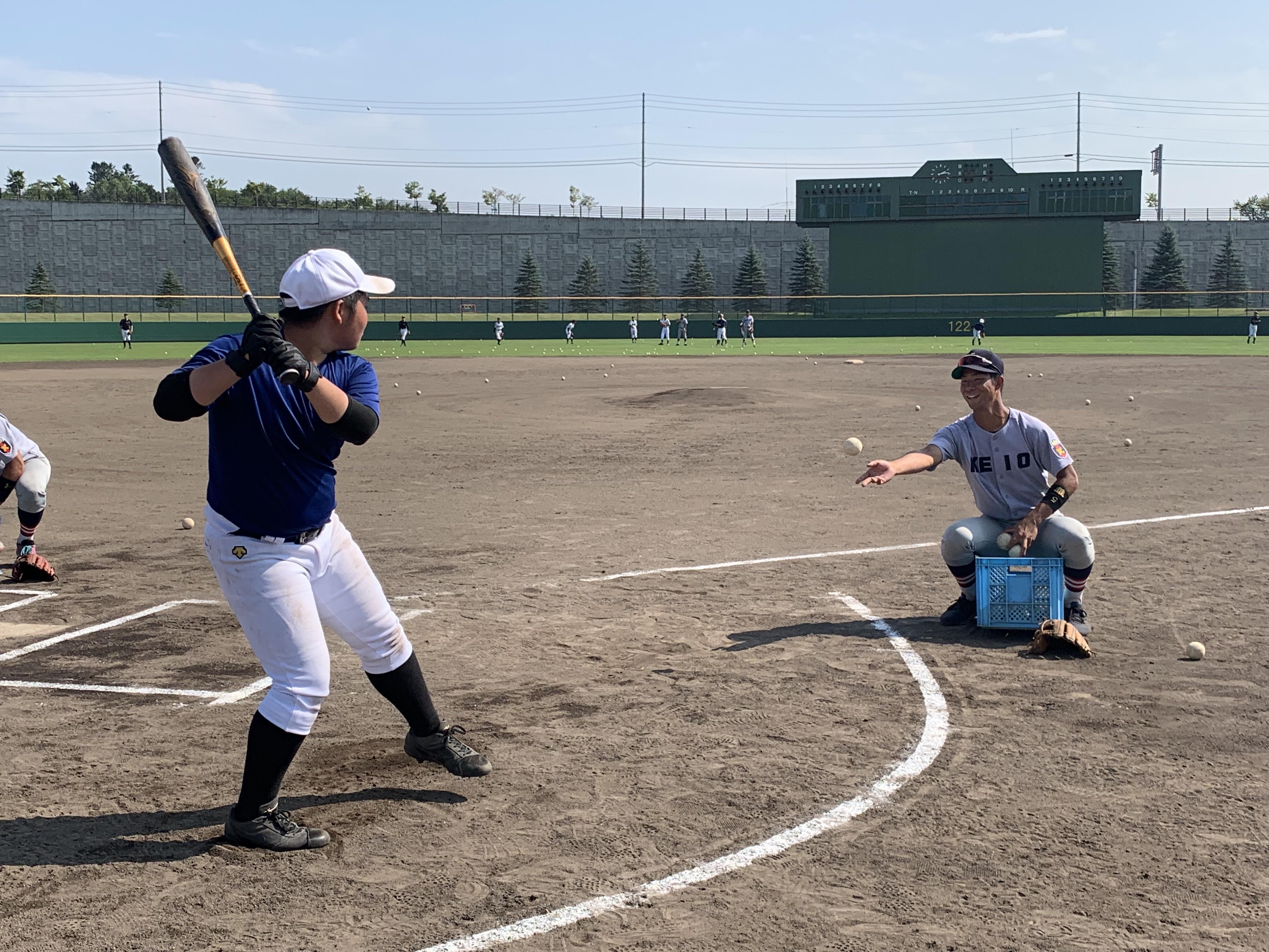 野球教室①