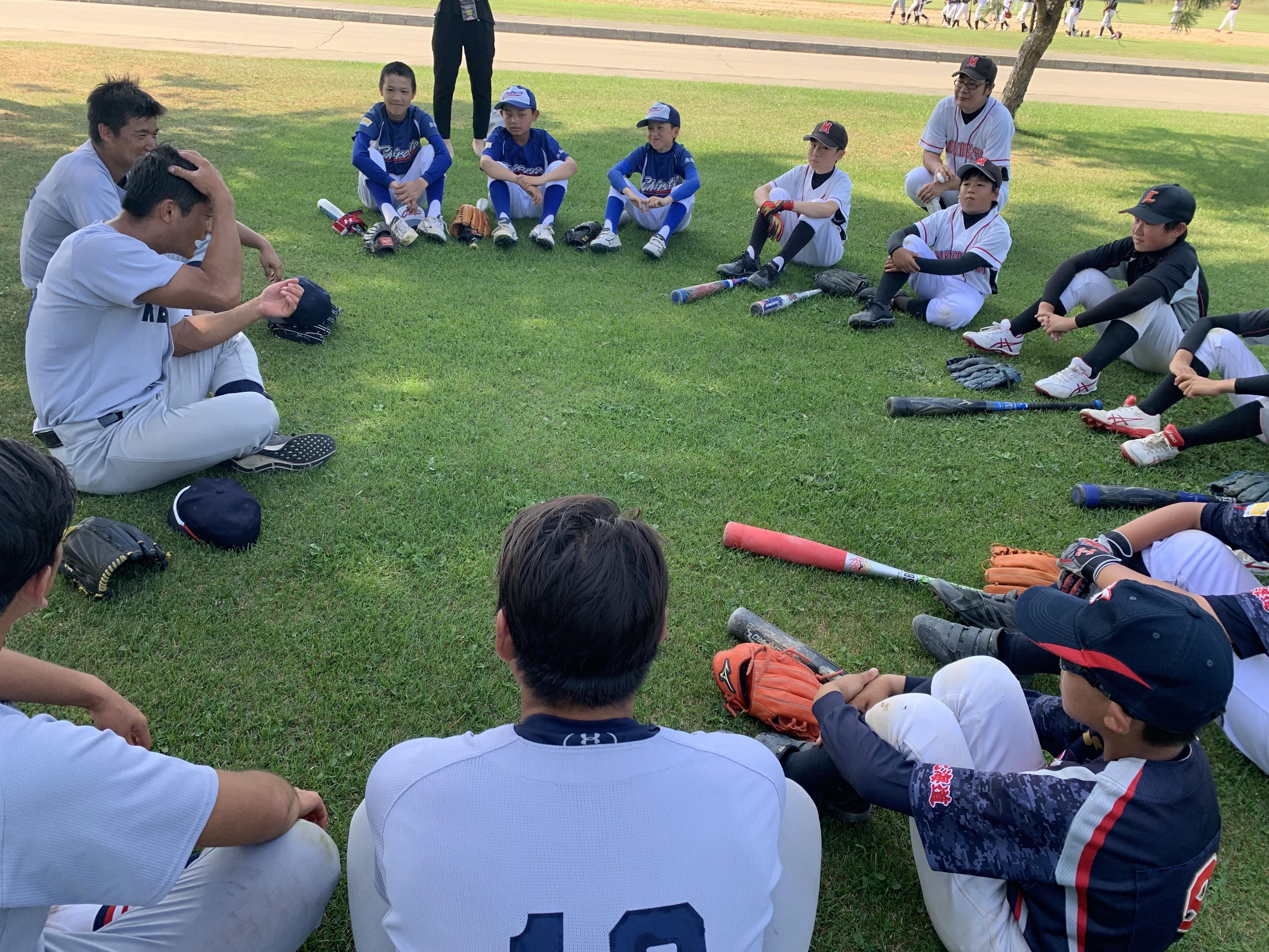野球教室②