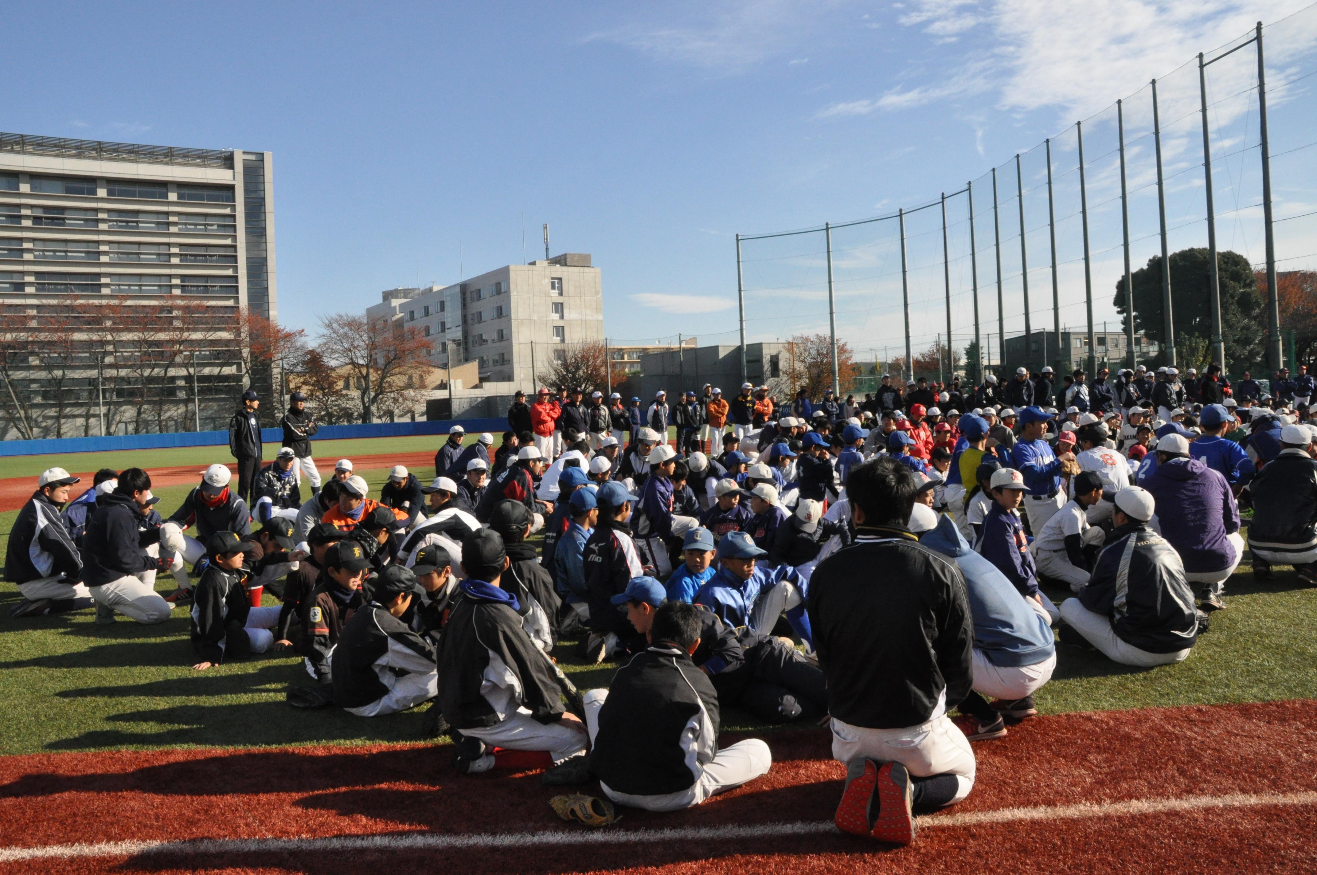 少年野球教室 (3)