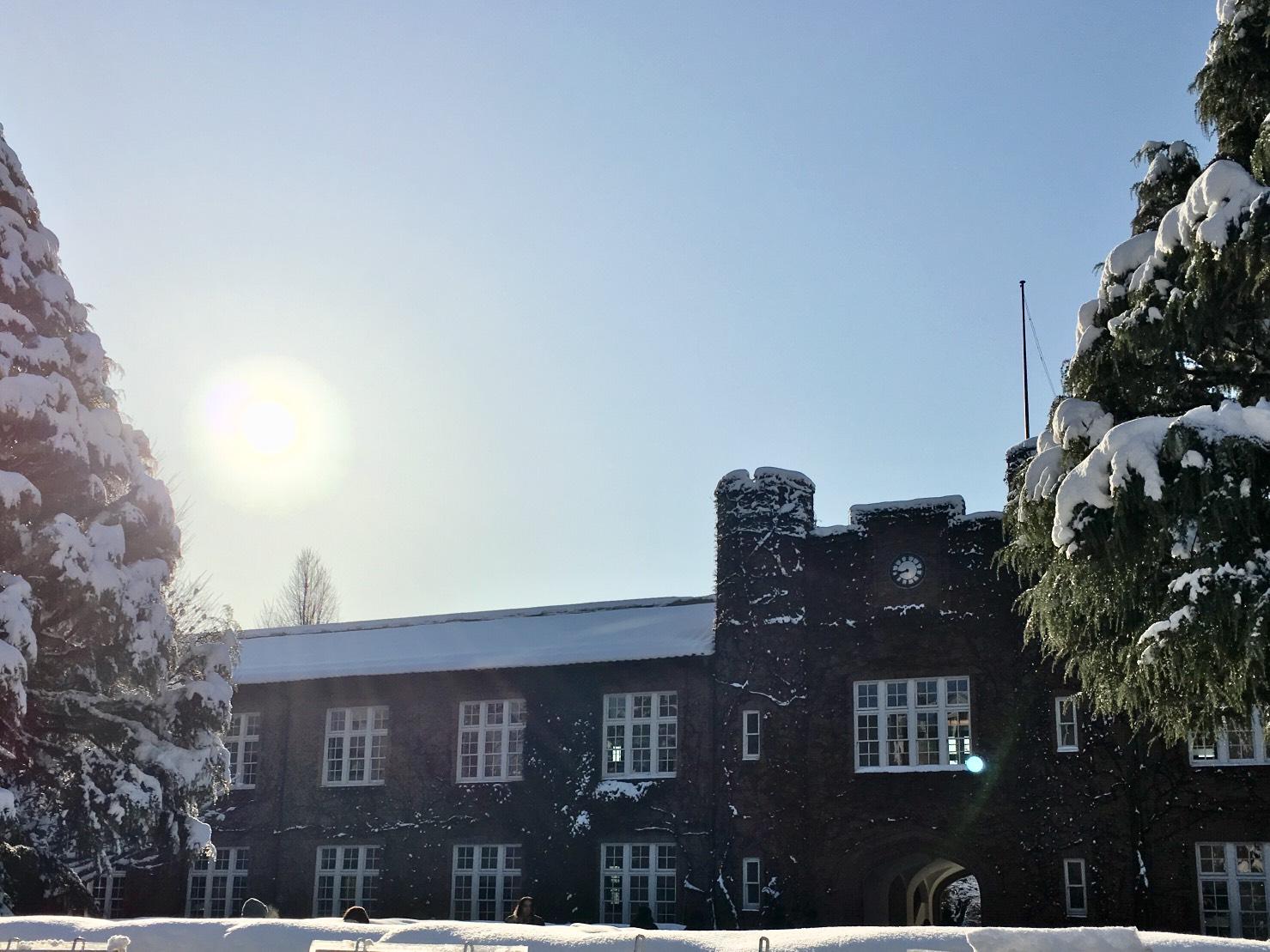 冬の池袋キャンパス