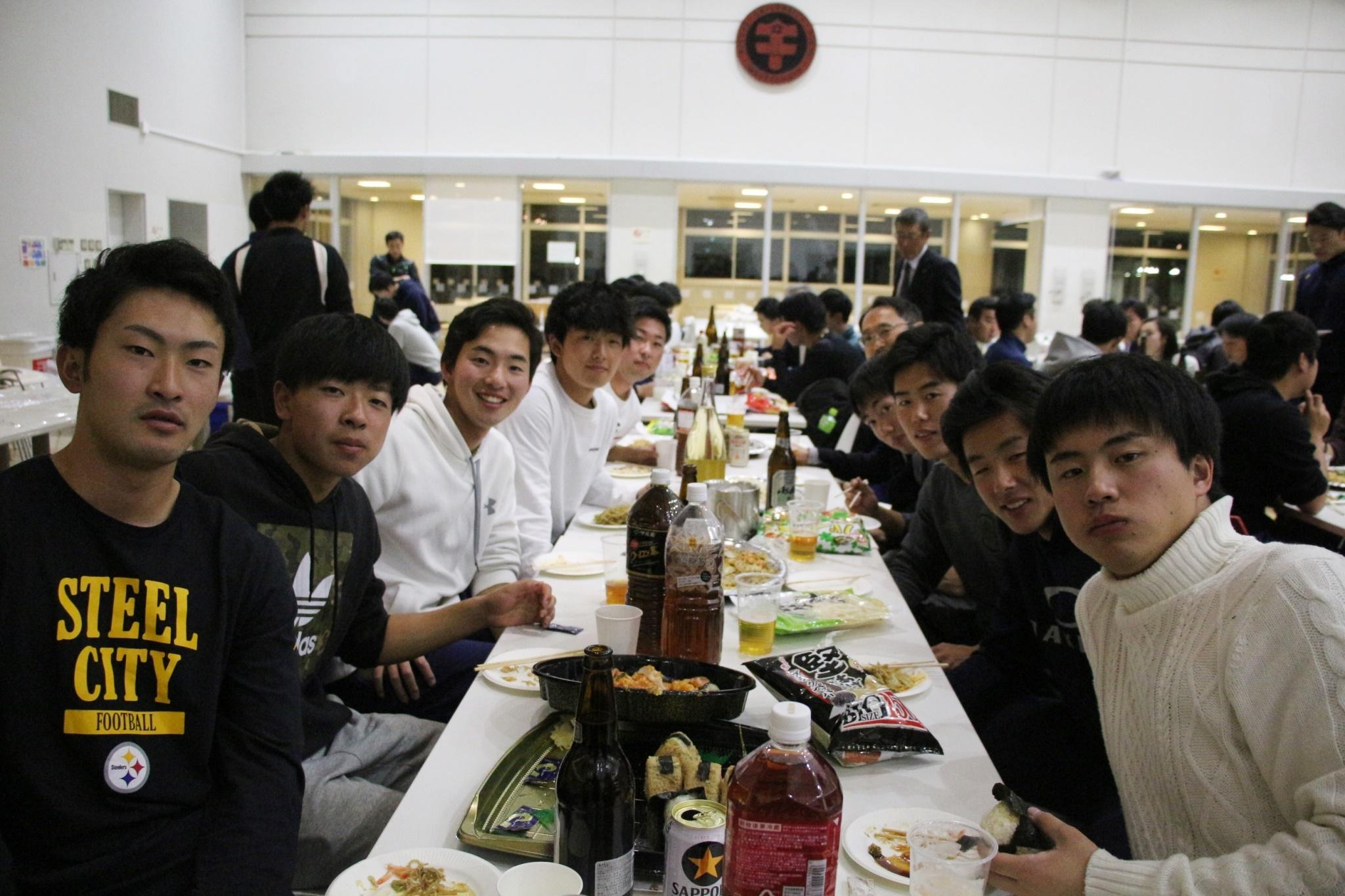 四送会 テーブル!!