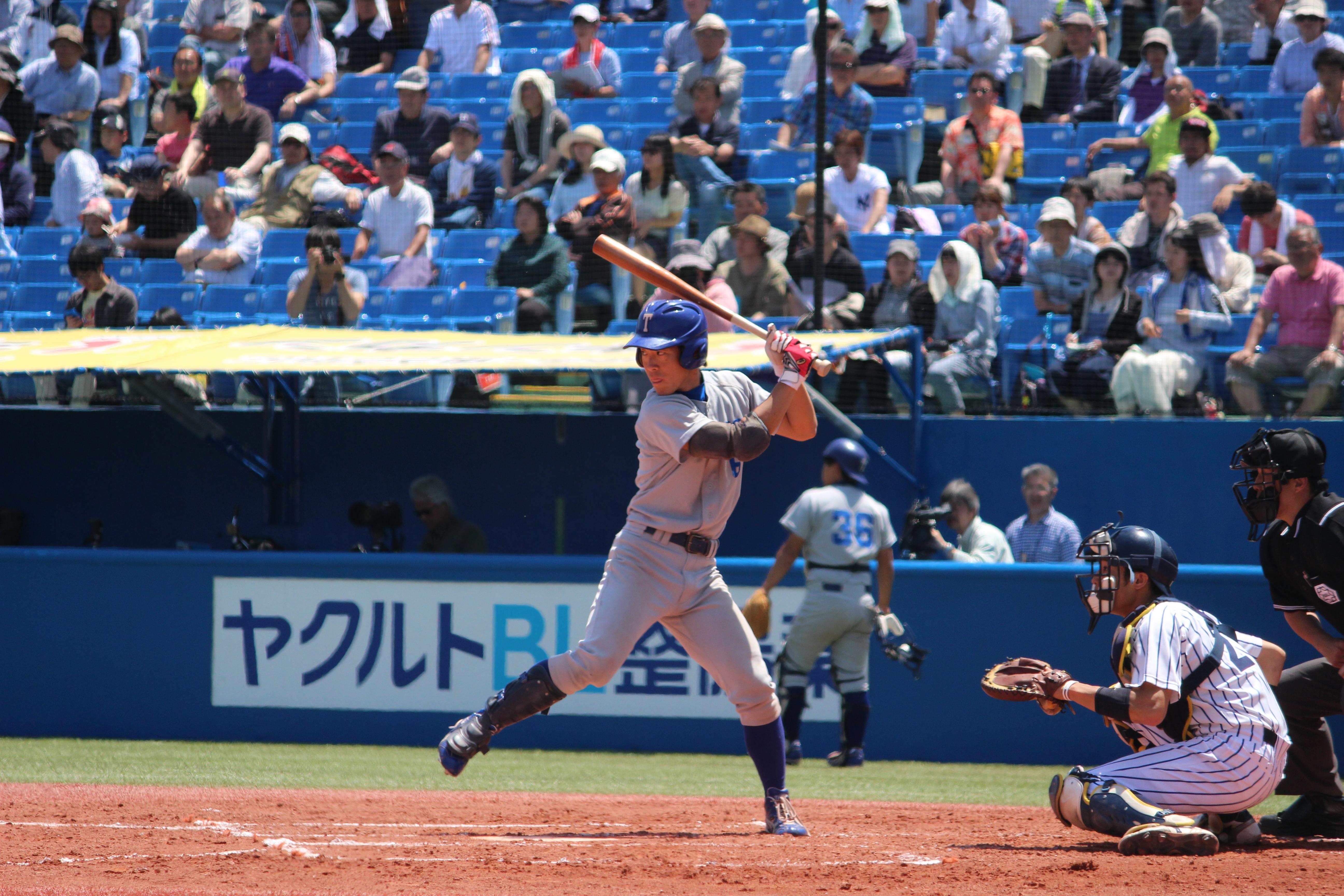 打線の核を担う山田選手