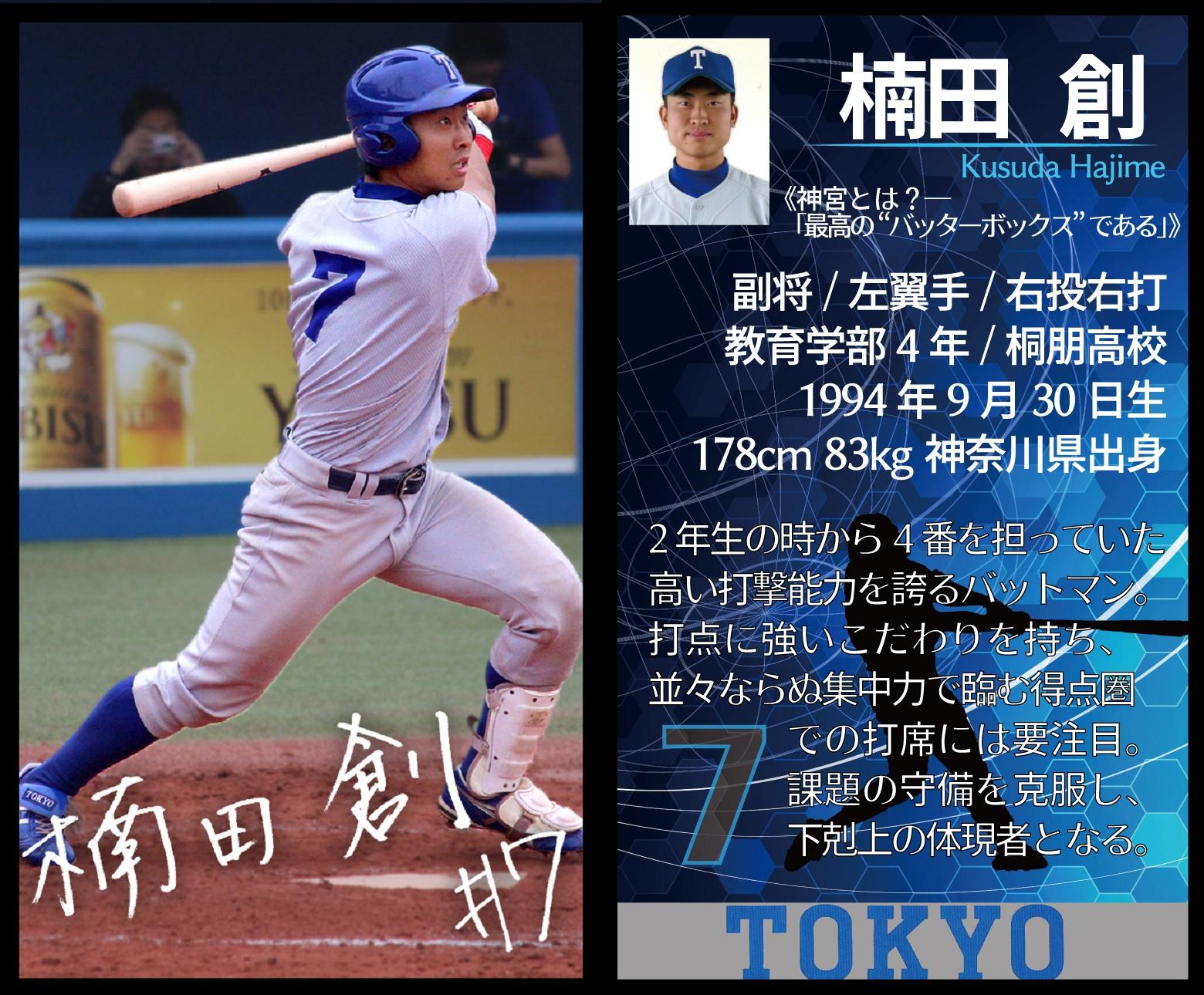 野球部07楠田ブロマイド