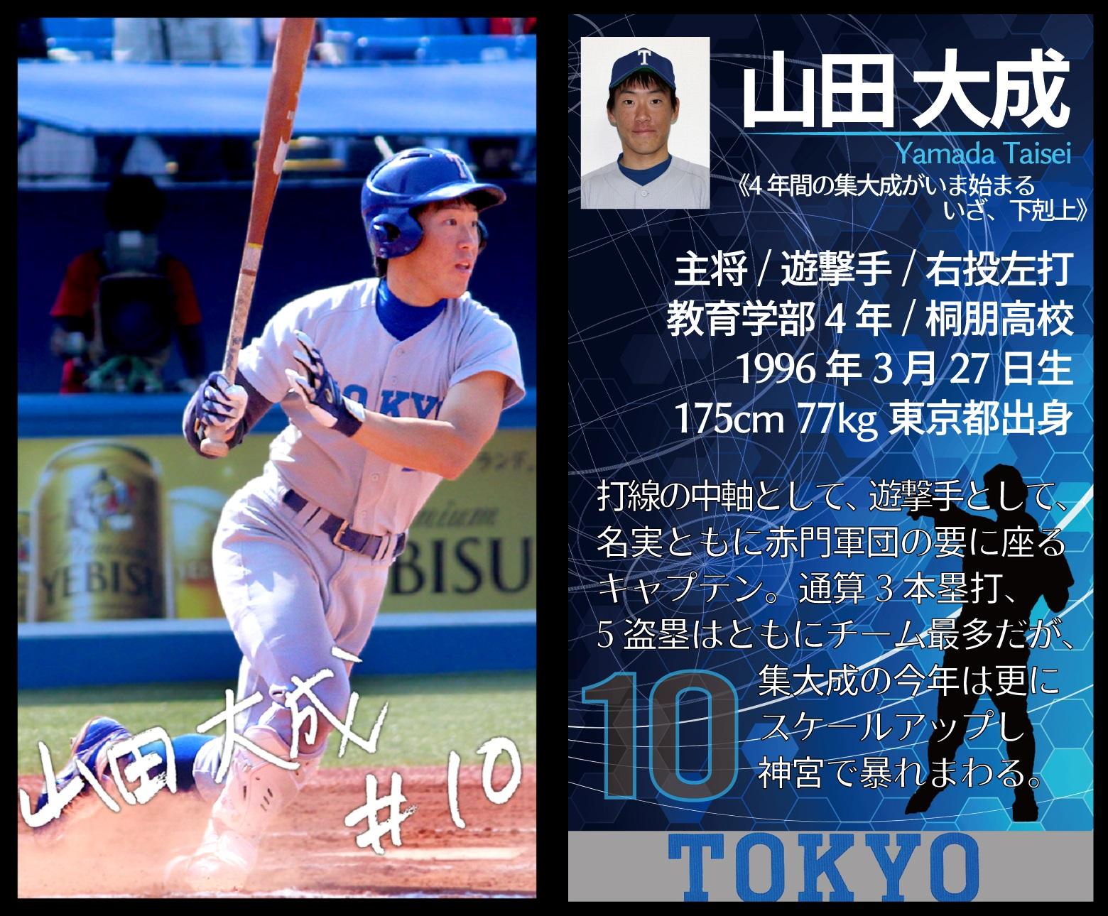 野球部10山田ブロマイド