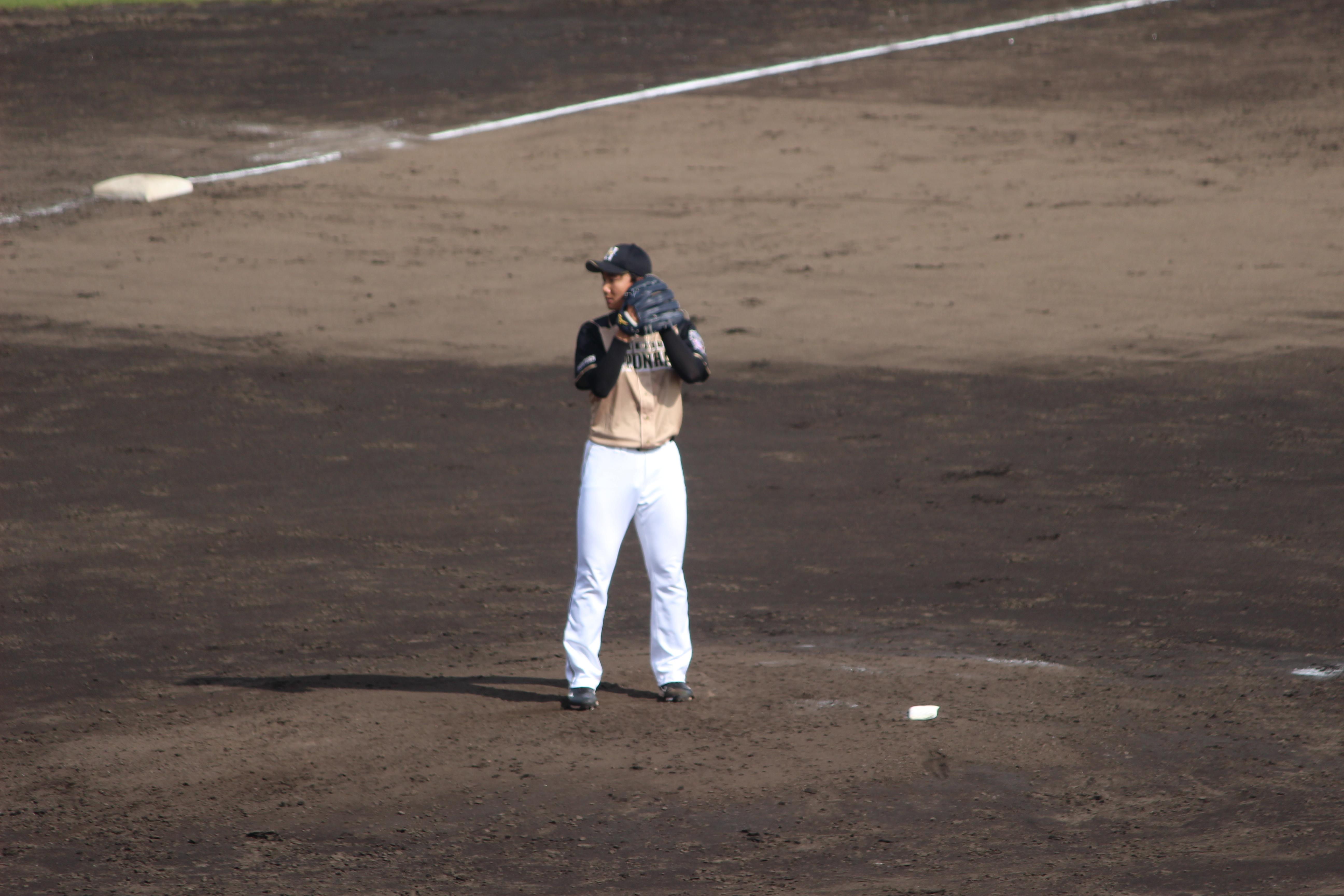 2.23宮台投手@ゴザしんきん